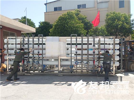郑州60吨纯净水设备