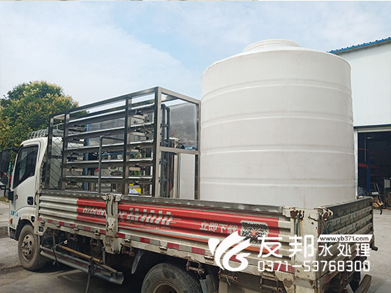 郑州3吨纯净水设备用于食品行业!
