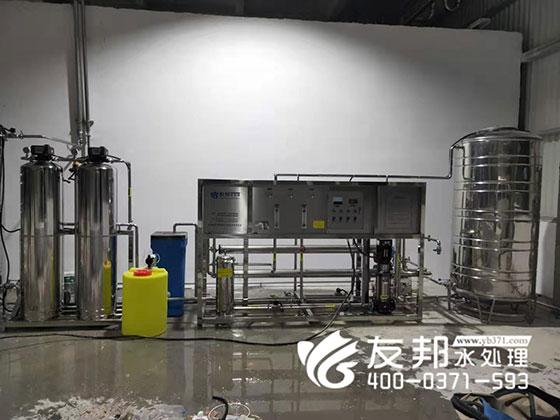 漯河2吨不锈钢纯净水设备