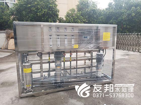 郑州2吨纯净水设备用于学校