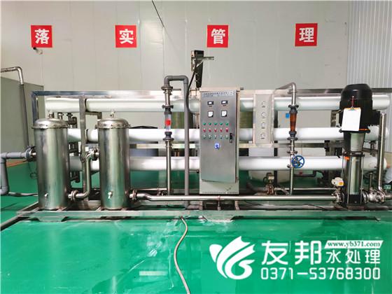 新乡和丝露饮品15吨纯净水设备