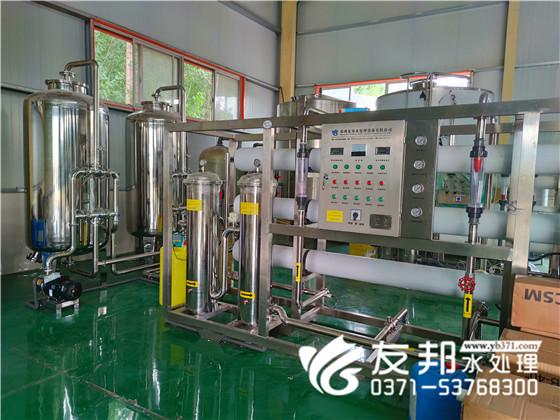 济源明浩饮品10吨纯净水设备!